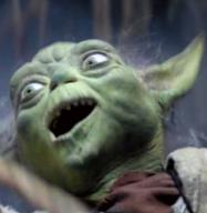 a aa aaa anger react star_wars surprise surprised textless yoda // 465x477 // 516.0KB