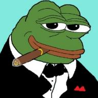 cigar frog low_res pepe smug suit textless tux tuxedo // 249x249 // 40.9KB