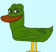 bad_drawing duck frog pepe textless // 1486x1364 // 206.2KB